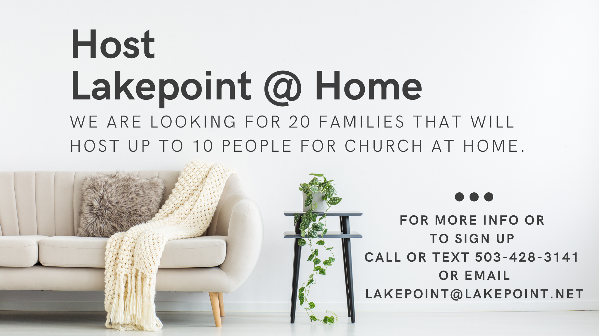 Lakepoint at Home
