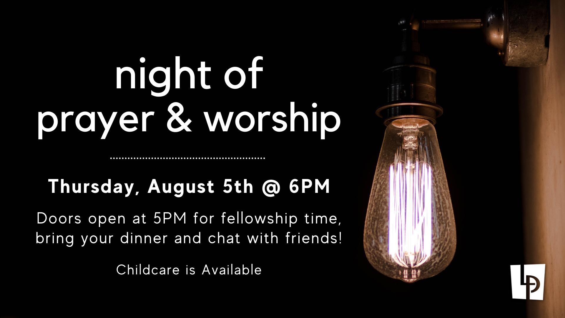 worship night 8-5